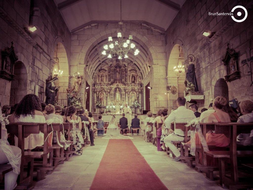 boda por la iglesia