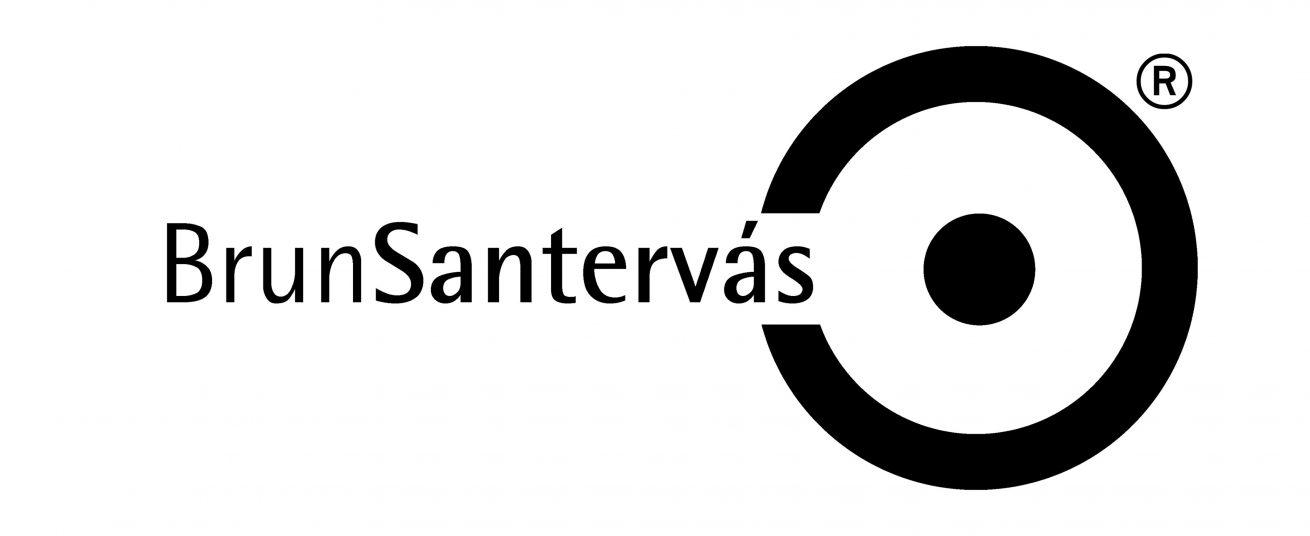 Logotipo-BrunSantervas-Negro-trade-mark-marca-registrada